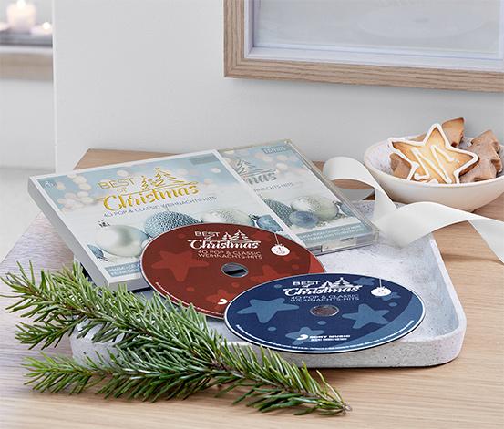 Płyty CD »Best of Christmas 2018«, 2 sztuki