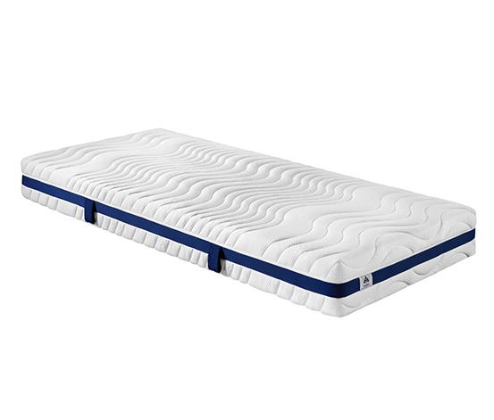 irisette® 7-Zonen-Kaltschaummatratze, 3D-Würfel-Schnitt, Härtegrad 2: Mittel, ca. 90 x 200 cm