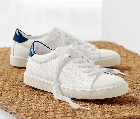 Mavi Beyaz Spor Ayakkabı