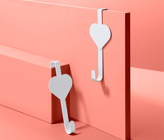 2 dörrkrokar