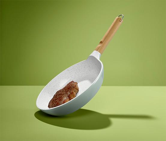 Aluguss-Pfanne mit hochwertiger Keramikbeschichtung, Ø ca. 24 cm