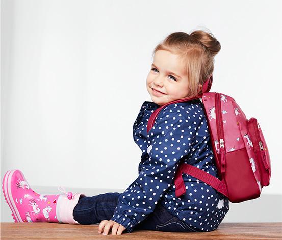 Gyerek hátizsák, rózsaszín, unikornisos
