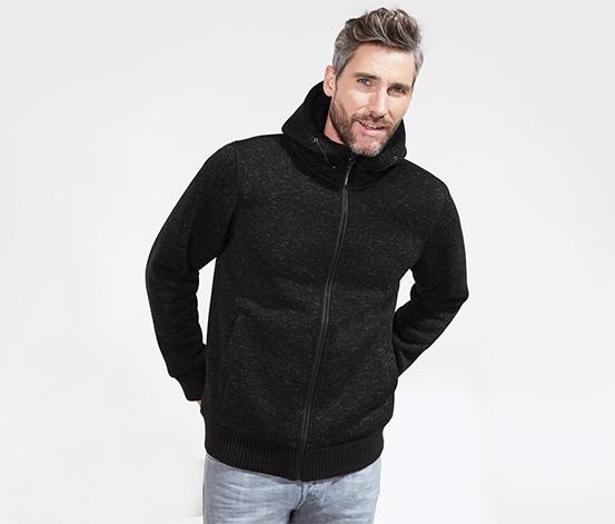 Veste thermique en tricot polaire