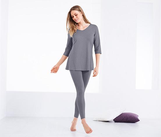 Puantiyeli Organik Pamuklu Pijama Takımı