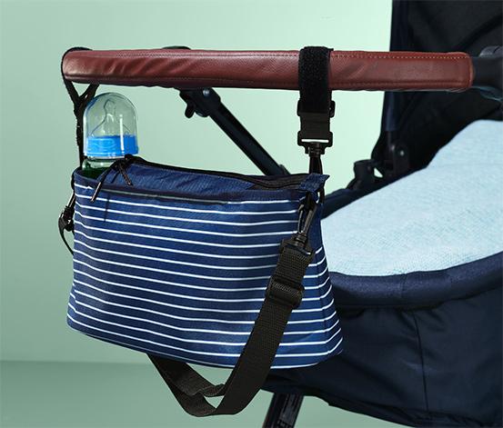 Rendszerező táska babakocsihoz, sötétkék