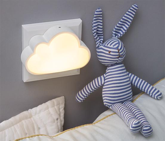 LED-Nachtlicht in Wolkenform