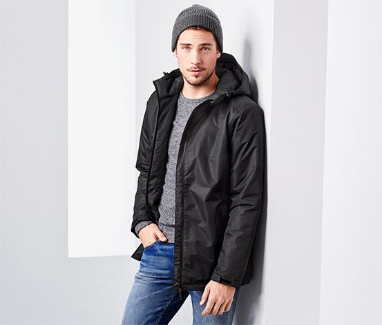 Férfi kabát minden időjárásra