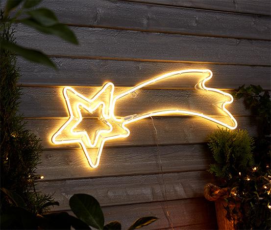 Spadająca gwiazda LED