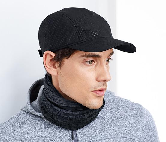 Ciepłochronna czapka z daszkiem