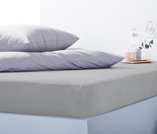 Žerzejové napínací prostěradlo na vysokou matraci, nadměrná velikost