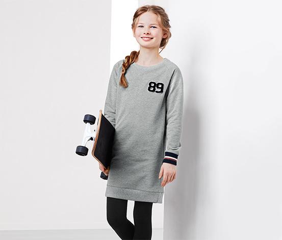 Šaty z teplákoviny