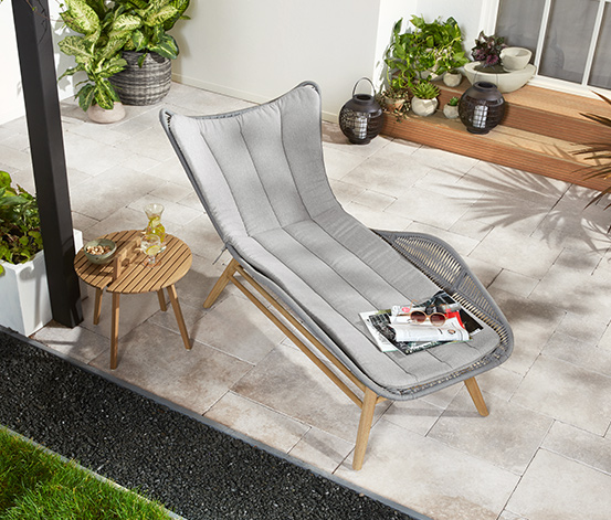 Chaise longue confortable «Rope»