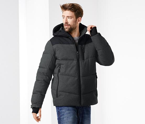 Ciepłochronna męska kurtka pikowana