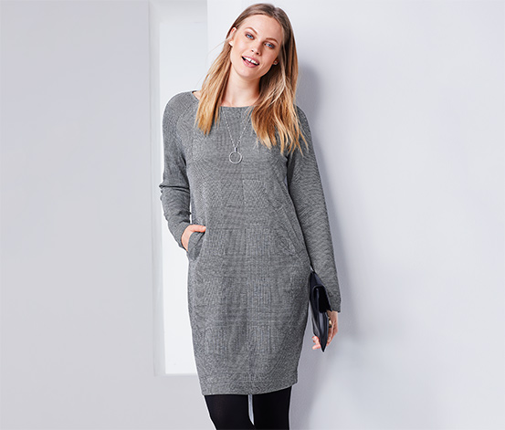 Sweatshirtklänning