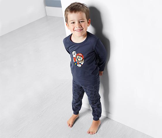 Gyerek Super Mario pizsama