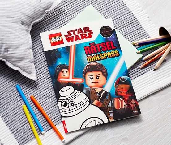 Buch »LEGO® Star Wars™ Rätselmalspaß«