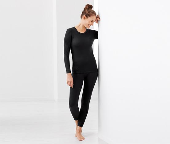 Női funkcionális aláöltözet, fekete