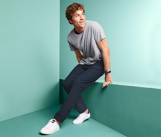 Męskie spodnie sportowe softshell
