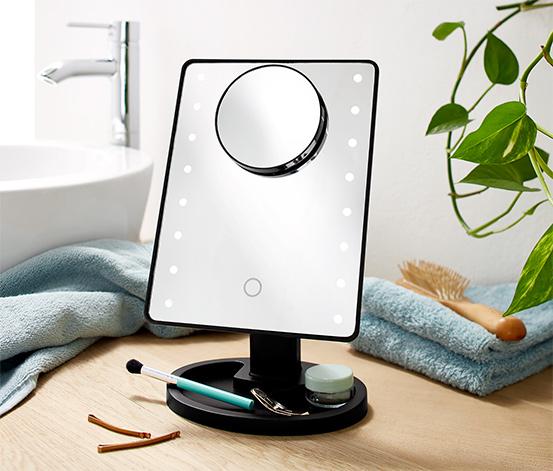 Kosmetické zrcátko s LED