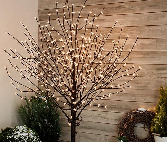 LED-Baum mit Blüten