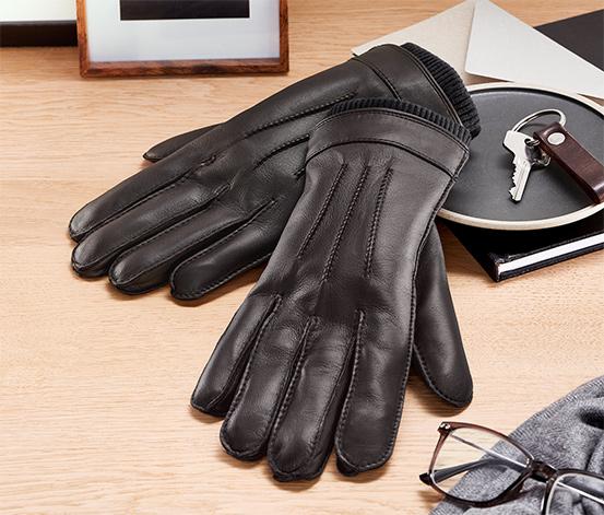 Leder-Handschuhe
