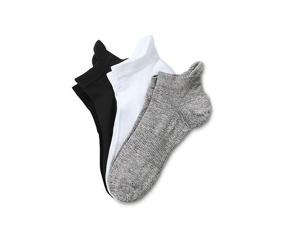 Gri Beyaz Siyah Fonksiyonel Koşu Çorabı