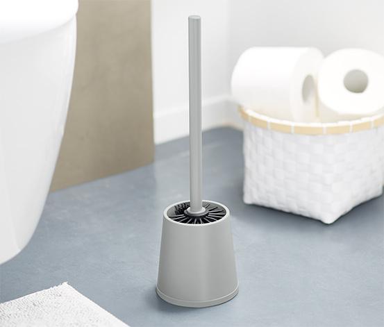Szczotka do WC z gumowym włosiem