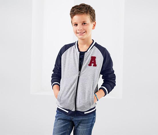 Bluza w stylu college dla chłopca
