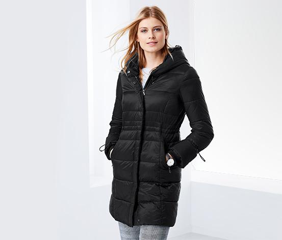 Quiltet frakke