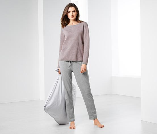 Dwustronna piżama damska