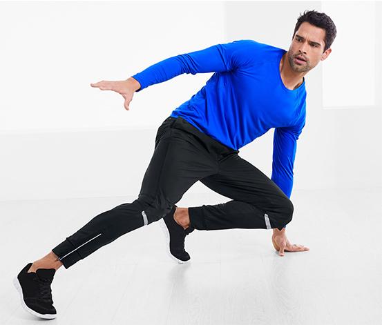 Vetruvzdorné bežecké nohavice