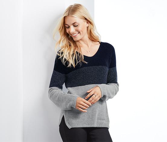 Damski sweter z dzianiny