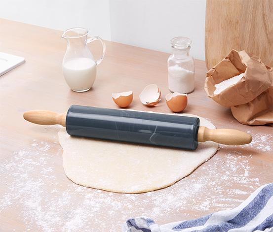 Rouleau à pâtisserie à l'aspect marbre