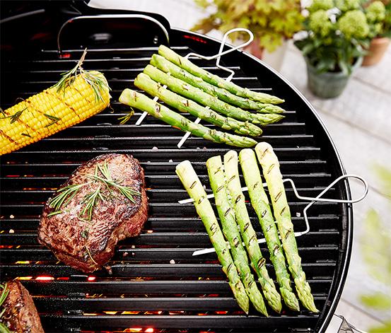 4 Gemüse-Grillspieße