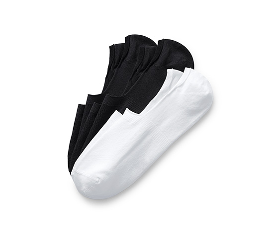 Krátké sportovní ponožky Invisible, 3 páry