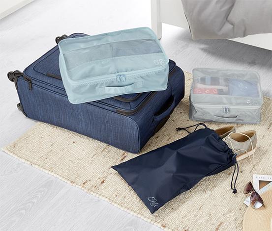 3 Adet Seyahat İçin Düzenleyici Çanta