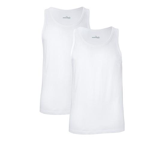 2 Jersey-Unterhemden