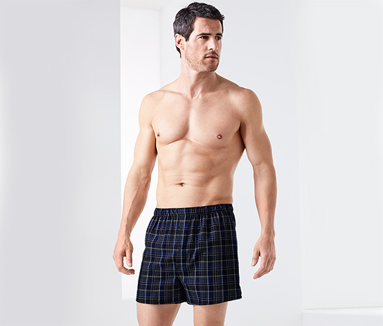 2 Flanell-Boxershorts
