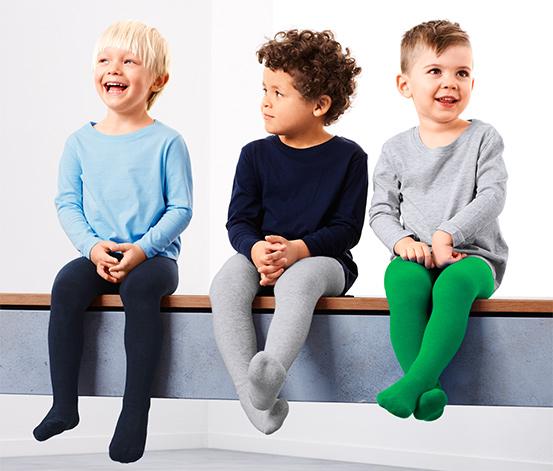 Lacivert Yeşil Organik Pamuklu Külotlu Çorap