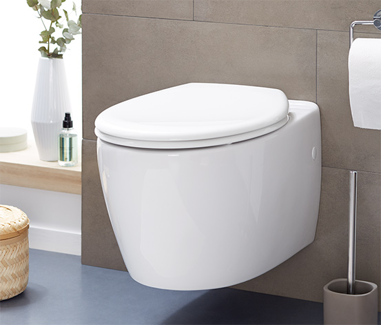 Easy-Close-WC-Sitz mit Absenkautomatik