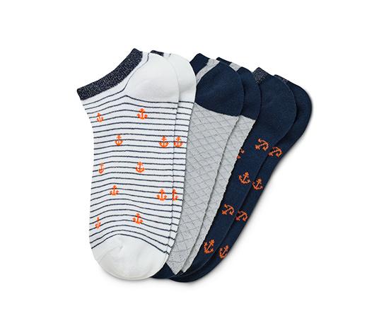 Dámské krátké ponožky, 3 páry