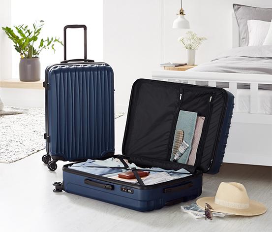 Lot de valises rigides