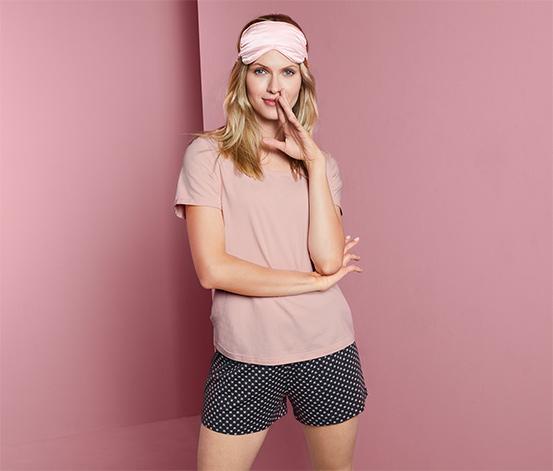 Damska piżama z T-shirtem i krótkimi spodenkami