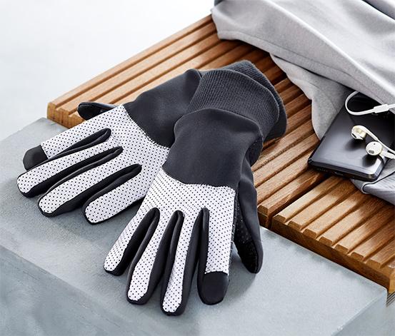 Rękawice odblaskowe chroniące przed wiatrem