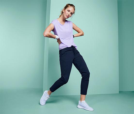 Softshellové joggingové kalhoty