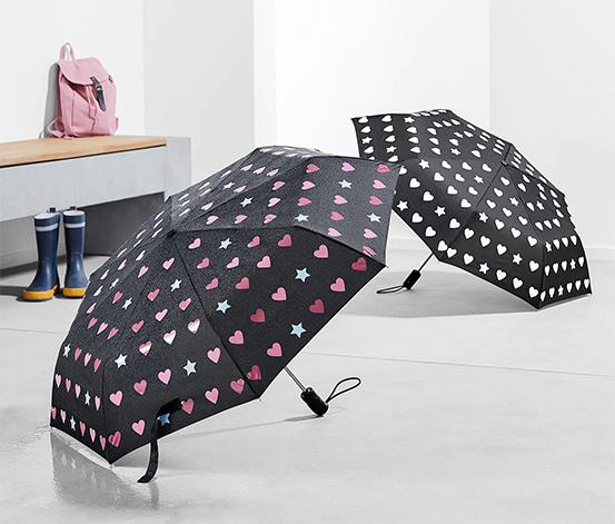 Deštník měnící barvy