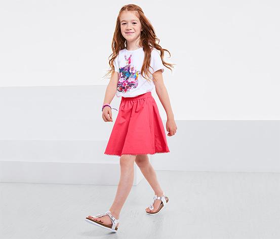 Lányka szoknya, pink