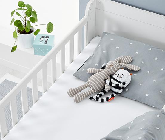 2 Kleinkinder-Spannbettlaken