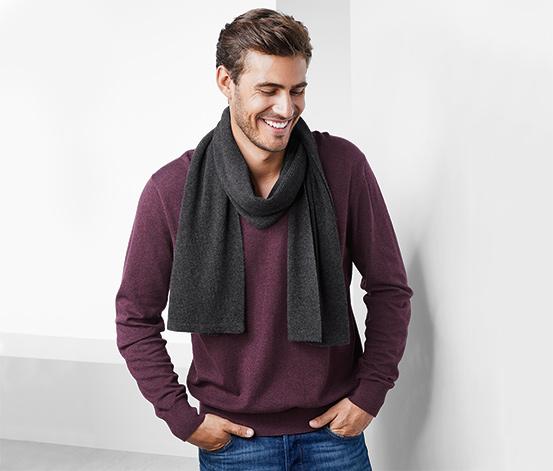 Kašmírový pletený šál