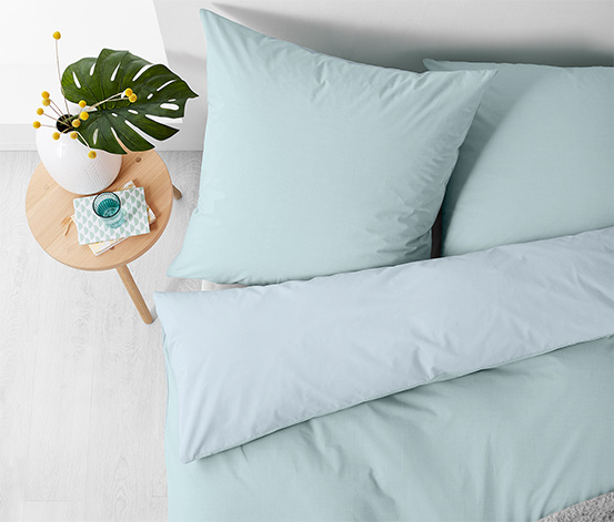 Obojstranná posteľná bielizeň z perkálu, dvojlôžko